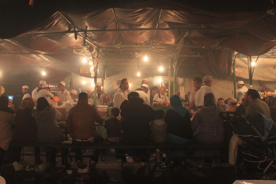 Djemaa el-Fna Marrakesh