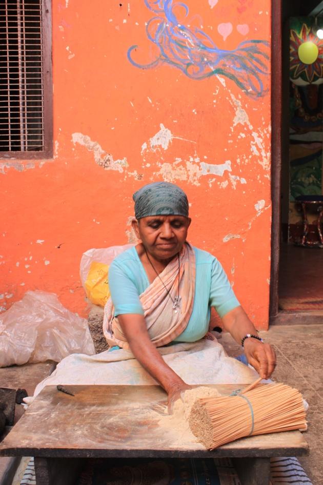 Making incense, Mysore